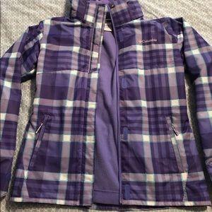 ECU M 10/12 girls Columbia interchangeable jacket